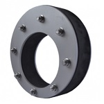 Speciality seal for off center pipe axis